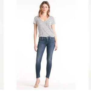 MOTHER 'The Looker' High rise Skinny Jeans 27